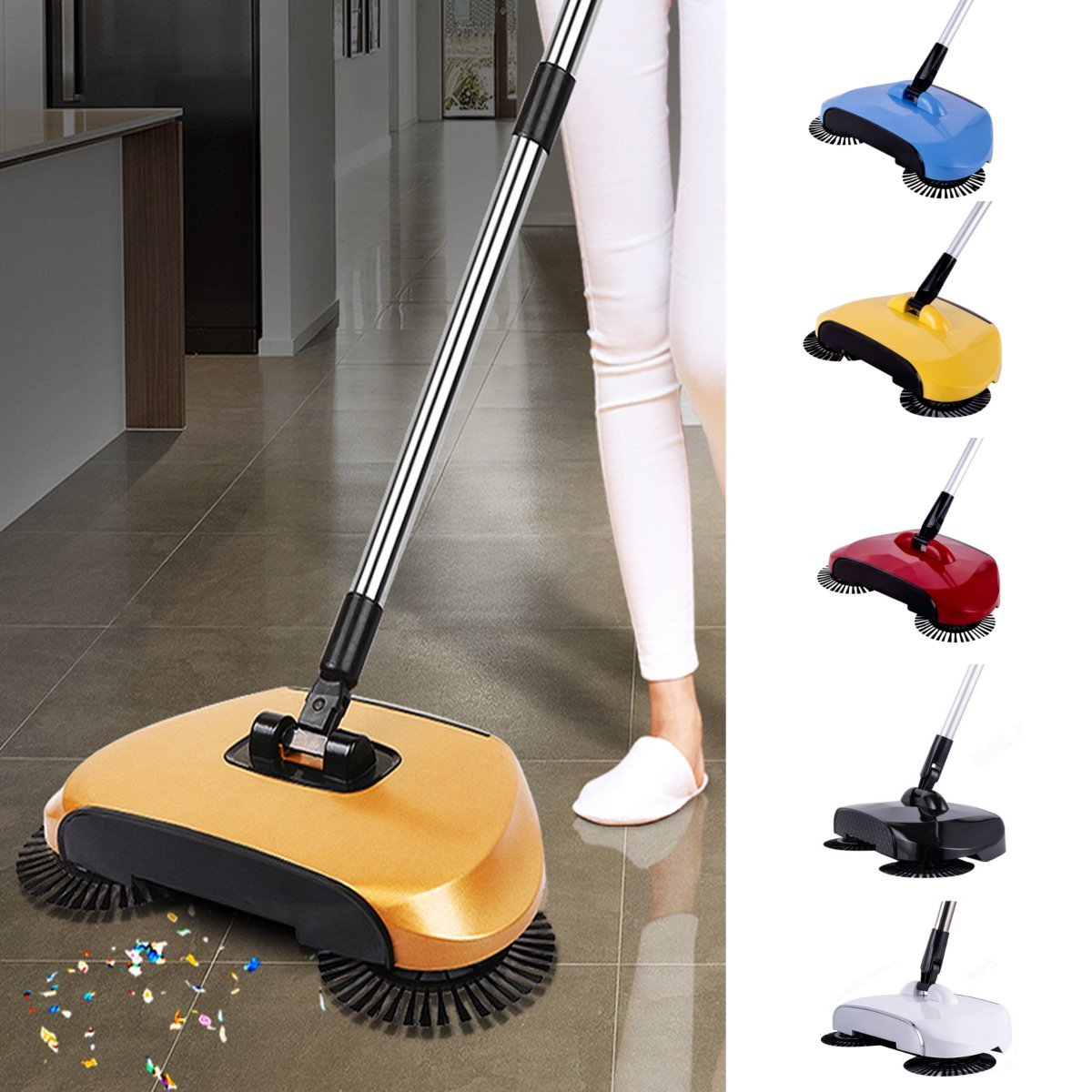 /puissant sans fil Spin Sweeper Cyclone Sweeper/