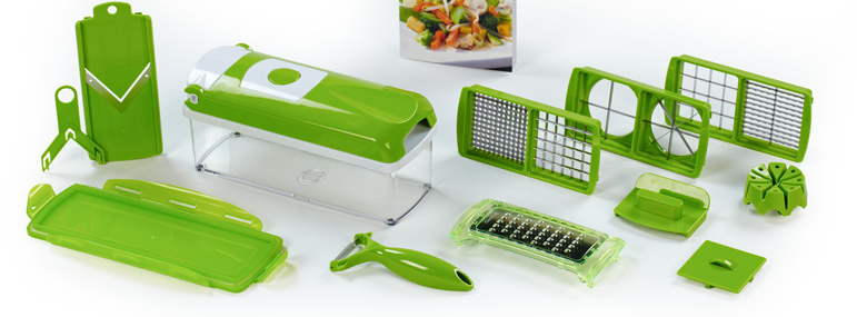 Guides comparatif des accessoires de cuisine test et avis utilisateur - Coupe legumes nicer dicer plus ...